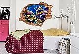 Vinilos decorativos 3D Seaside View Fotomurales Adhesivos calcomanías breakthrough WALL PAPER