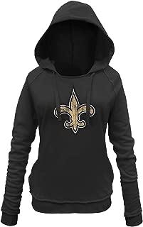 New Era New Orleans Saints Women's NFL Post Route Pullover Hooded Sweatshirt