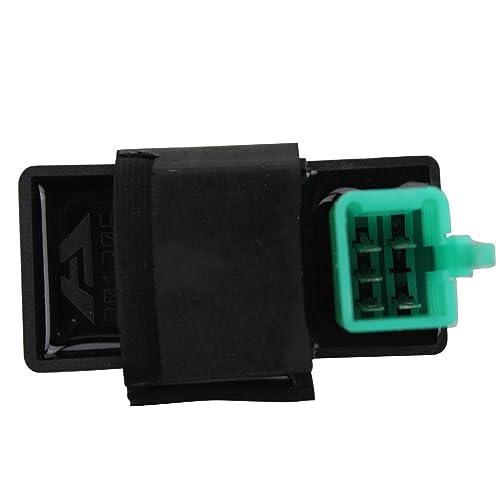 Racing CDI Box: Amazon.com on zongshen 150cc electric diagram, 4 pin flat trailer wiring, 4 pin dc-cdi pinout, 4 pin trailer connector, moped cdi diagram, 4 pin connector diagram, 4 pin fan wiring,