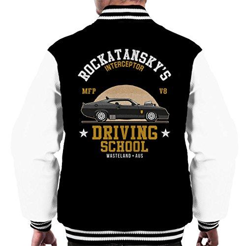Cloud City 7 Mad Max Rocktanskys Driving School Men's Varsity Jacket