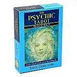 GUIMEI The Psychic Tarot Oracle Cards: una baraja de 65 Cartas John Holland Game Oracle Bellamente ilustrado Principiantes Adivinación N