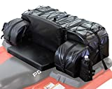 ATV TEK Arch Series Oversized Rear Rack Utility Pack, Padded ATV Cargo Bag - Black