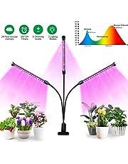 Mobestech Led Kweeklampen 27W Usb 3 Koppen Clip Op Plantlicht 360 Graden Verstelbare Zwanenhals Groeiende Lamp Voor Kamerplanten Bloem Zaailing Kas