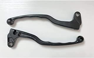 Motoparty Handle Clutch Brake Lever Set For Suzuki A100 DR DS PE RL RM RS T305 TC305 TM For Yamaha 60's and 70's Models AT CS5 CT DS DT HT LS LT MX R3 R5 R5B R5C RS RT Lever Set Clutch Brake Levers