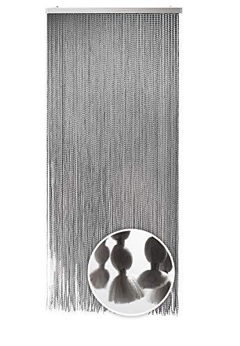 Kobolo Flauschvorhang Türvorhang BONBON Vorhang Fadenvorhang 94 Stränge