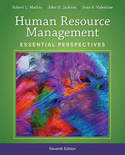 Compare Textbook Prices for Human Resource Management: Essential Perspectives 7 Edition ISBN 9781305115248 by Mathis, Robert L.,Jackson, John H.,Valentine, Sean R.