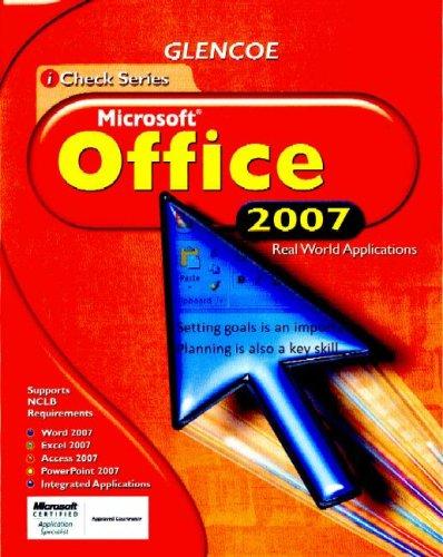 Icheck Microsoft Office 2007, Student Edition (Icheck Series)