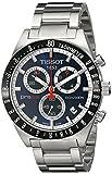 Tissot, orologio cronografo da uomo in acciaio, PRS516, T0444172104100