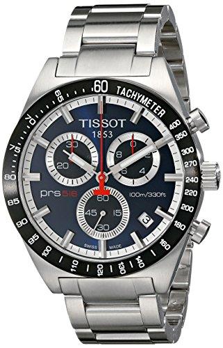 [ティソ]TISSOT 腕時計 PRS516 ブルー T0444172104100 メンズ [正規輸入品]