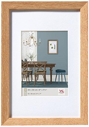 walther design EF040E Fiorito Holzrahmen 30x40 cm, eiche hell