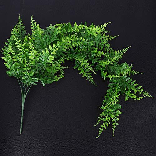 【𝐎𝐬𝐭𝐞𝐫𝐟ö𝐫𝐝𝐞𝐫𝐮𝐧𝐠𝐬𝐦𝐨𝐧𝐚𝐭】 Künstliche Pflanzen, künstliche h ngende Pflanzen, simulierte Pflanzen Reben künstliche Efeublattpflanzen au erhalb h ngende Dekoration für die Flurwand zu Ha
