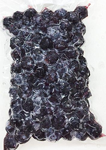 冷凍ブルーベリー (チリ産) 1000g 【消費税込み】 栄養価の高いブルーベリーは、ポリフェノールやアントシアニンがいっぱい。