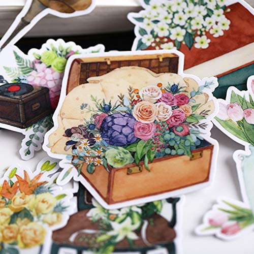 Fancy Time Hand Retro Wind Handbook Sticker Material Notas Decorativas Diy Water Cup Album Sticker Set 15 Pcs