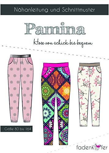 Schnittmuster und Nähanleitung - Kinder Hose - Pamina