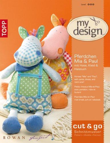 my design Pferdchen Paul & Mia: mit Hose, Kleid & Halstuch