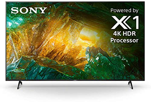 Sony - 85' Class X800H Series LED 4K UHD Smart Android TV (Certified Refurbished)