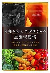 4種の炭とコンブチャの生酵素習慣 生酵素 30日分