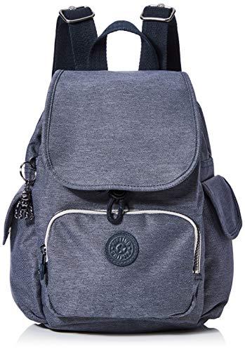 Kipling Women's City Pack Mini, Black (Charcoal), 27x29x14 Centimeters (B x H x T)
