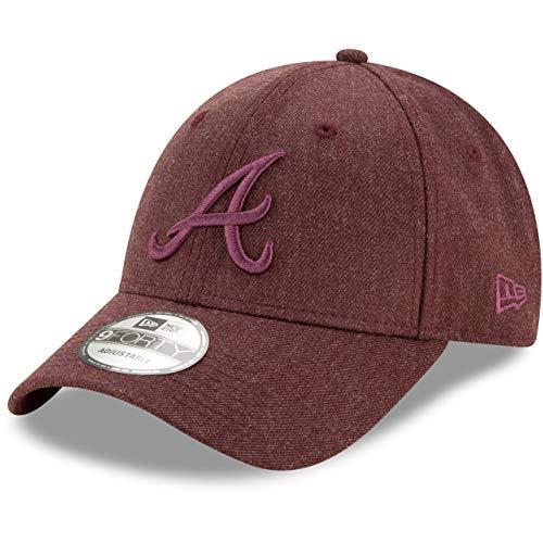 New Era Gorra béisbol 9FORTY MLB Winterized The League Atlanta Braves Granate...