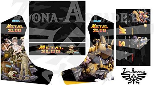 Zona Arcade Vinilo para recreativa bartop (Metal Slug)