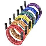 Best XLR Cables - XLR Microphone Cables 25ft 6 Pack, JTDER XLR Review