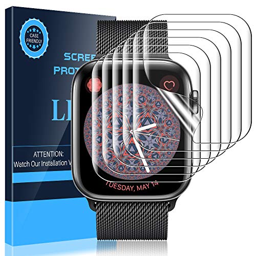 LK 6 Pack Screen Protector for Apple Watch Series 6/SE/Series 5/Series 4...