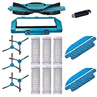 ローラーブラシサイドブラシ HConga 3290 3490 3690フィルタ掃除機のためのモップロボットスイーパーアクセサリーの取り替えフィット Vacuum Cleaner Parts (Color : 046)