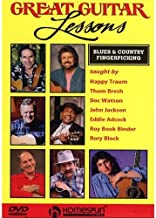 Great Guitar Lessons: Blues And Country Fingerpicking. para Guitarra