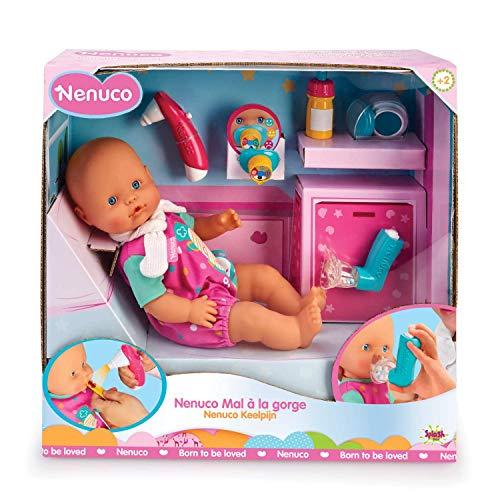 Nenuco Dolor de Garganta - Muñeca bebé, para niños y niñ