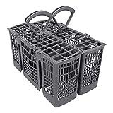 DL-pro Cesta de cubiertos divisible gris para lavavajillas Bosch Siemens Neff...