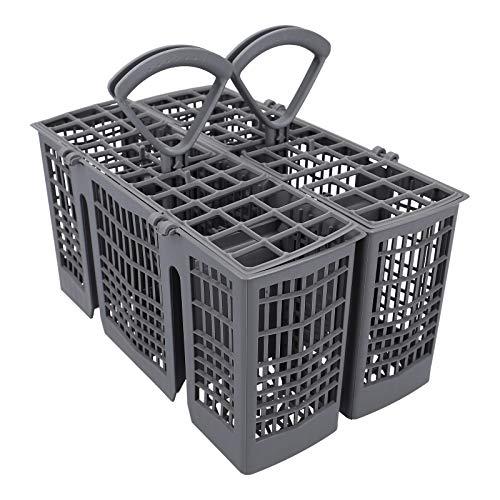 DL-pro Cesta de cubiertos divisible gris para lavavajillas Bosch Siemens Neff Constructa 00418280 418280
