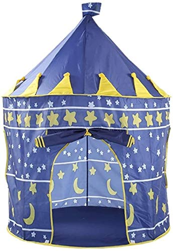 Schattig Zhoumei Daily Life Play Tent Princess Tent For Girls Play Tent Princess Castle Kamperen Tent Grote Playhouse Tipi kinderen Ruimte Pop Up Play House speelgoed for jongens, paars, blauw, roze