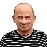 Russicher Präsident Vladimir Putin Maske - perfekt für Fasching, Karneval & Halloween - Kostüm...