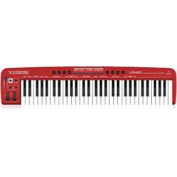 Behringer U-Control UMX610 61-Key USB/MIDI Controller Keyboard with Separate USB/Audio Interface