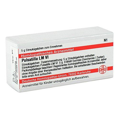 DHU Pulsatilla LM VI Globuli, 5 g Globuli