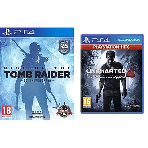 Rise Of The Tomb Rider: 20 Aniversario + El Desenlace Del Ladrón Hits - Edición Uncharted 4, Versión 16