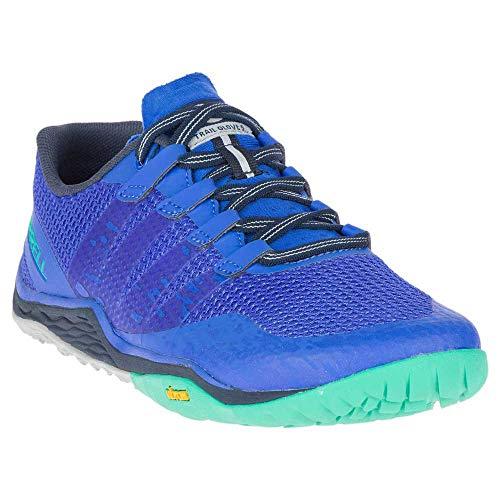 Merrell Damen Trail Glove 5 Hallenschuhe, Blau (Dazzle), 37 EU