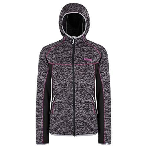 Regatta Damen Willowbrook V Fleece, schwarz/schwarz, FR : L (Taille Fabricant : 16)
