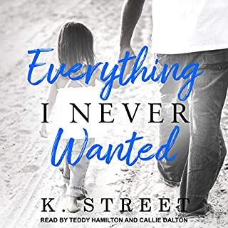 Everything I Never Wanted     Jaxson Cove Duet Series #1              By:                                                                                                                                 K. Street                               Narrated by:                                                                                                                                 Callie Dalton,                                                                                        Teddy Hamilton                      Length: 6 hrs and 28 mins     7 ratings     Overall 4.7