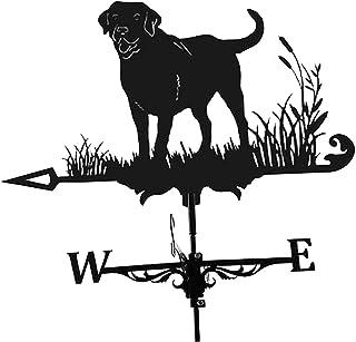 Weathervane Iron Weathervane Metal Iron Wind Vane Retro Weather Vane Garden Patio Yard Ornament Decoration Weathervane - Dog