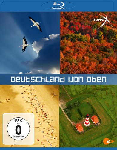 Deutschland von oben Teil 1 & 2 [Blu-ray]