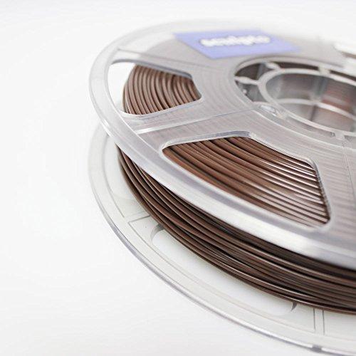 Sculpto filamento Marrone 0,5 KG per stampante 3D, PLA, di buona qualità