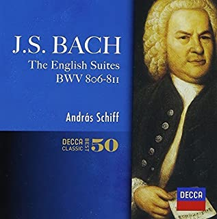 J.S.Bach: English Suites by Andras Schiff (2014-05-14)