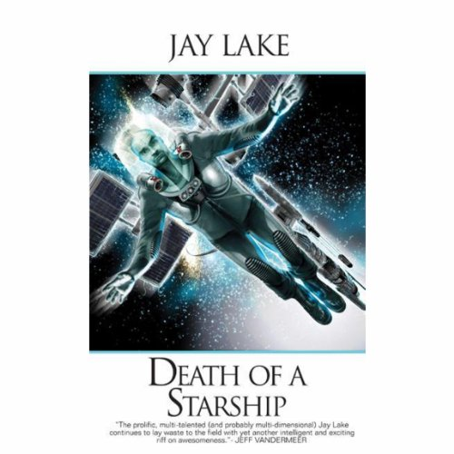 Death of a Starship audiobook cover art