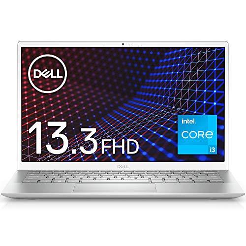 DellモバイルノートパソコンInspiron135301シルバーWin10/13.3FHD/Corei3-1115G4/8GB/256GB/Webカメラ/無線LANMI533A-AWLS