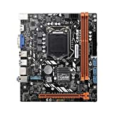 Ramingt Accesorios Placa Base Cargada H310C DDR3 * 2 M.2 Interfaz Placa Base para Juegos M-ATX para...
