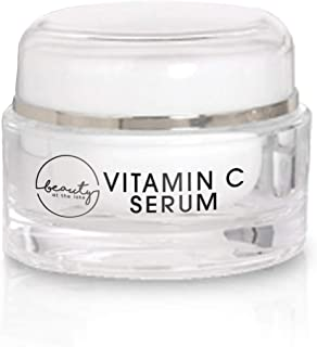 Beauty at the Lake Vitamin C Face Serum - Antioxidant Serum Enriched with Coenzyme Q10 and Peptides - Face Cleanser for Sk...