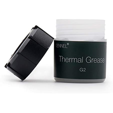 GENNEL G2 Thermal Compound Paste, High Performance, High Durability, Heatsink Paste, Thermal Greasefor CPU Coolers, Thermal Interface Material - 20 Grams