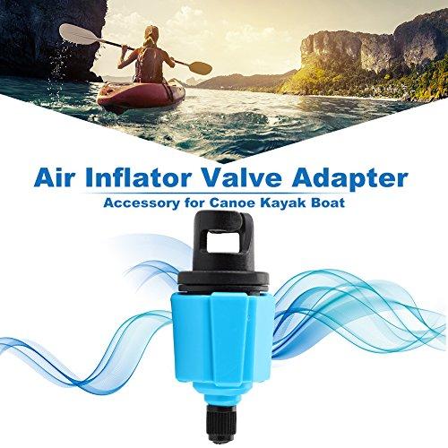 Tbest luchtpomp ventiel adapter boot inflator pomp slang adapter voor opblaasbare kano kajak vlot