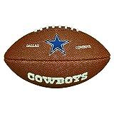 Wilson - Balón de fútbol americano, color marrón, tamaño Baltimore Ravens